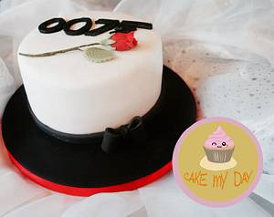 007 James Bond Inspired - Cake by Sweetlocks Bakery