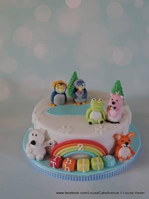 pororo cake - Cake by Louise