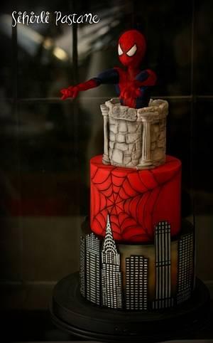 Spiderman Cake - Cake by Sihirli Pastane