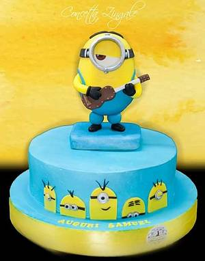 Minion cake - Cake by Concetta Zingale