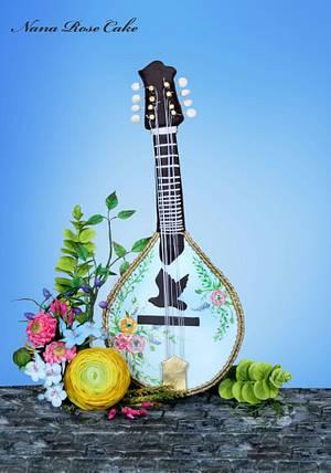 Mandolin ...Music Around the world Collaboration  - Cake by Nana Rose Cake