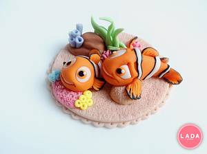 Nemo figurines - Cake by Ladadesigns