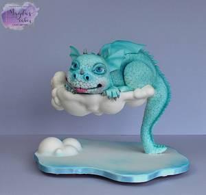 Dragon - Cake by Magda's Cakes (Magda Pietkiewicz)