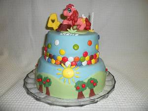 My little pony - Cake by Alessia's Wonder Cakes