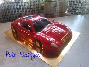Ferrari - Cake by Petr Nastych