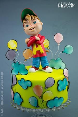 Alvin superstar!!! - Cake by  Le delizie di Kicca