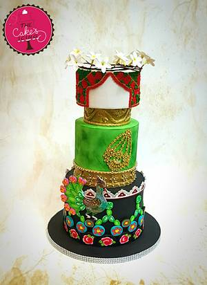 For the Love of Art : Pakistan - Cake by The Cakes Icing