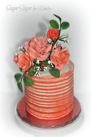 Sue's Birthday Cake - Cake by Sandra Smiley