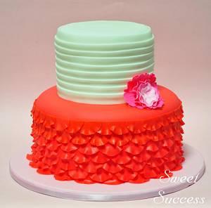 Rose Petal Cake - Cake by Sweet Success