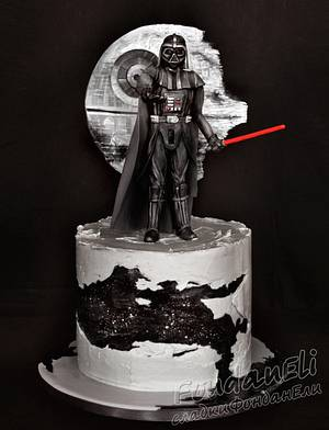 Star Wars  - Cake by FondanEli