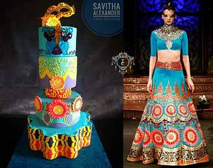 Barsaat- A Bollywood Kitsch statement - Cake by Savitha Alexander