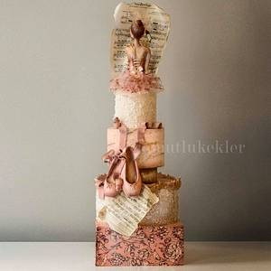 My Ballet Cake - Cake by Caking with love