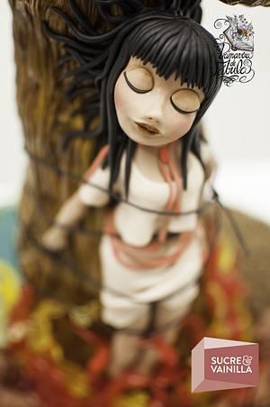 Fábula de la flor del Ceibo/ Fable Ceibo Flower - Cake by Viviana Zerneri