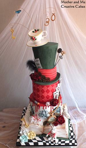 Shane in Wonderland - Cake by Mother and Me Creative Cakes