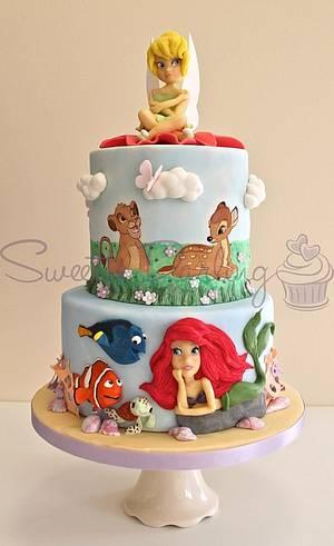 Disney Cake - Cake by Sweetie Darling- Billie