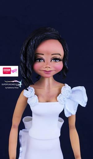 Fantasy bride - CPC Royal Wedding Collaboration - Cake by Super Fun Cakes & More (Katherina Perez)