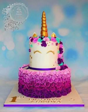 Unicorn Cake  - Cake by Beata Khoo