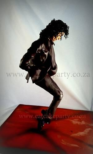 Michael Jackson - Cake by Dorothy Klerck