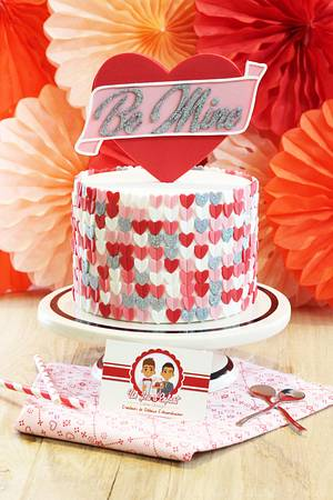 Happy Valentine's Day - Cake by CAKE RÉVOL