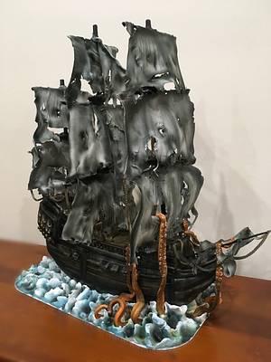 Pirate Ship Cake - Cake by  Sue Deeble
