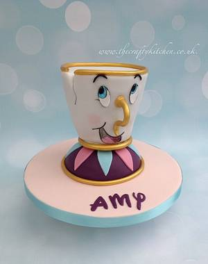 'Chip' from Beauty & the Beast. - Cake by The Crafty Kitchen - Sarah Garland