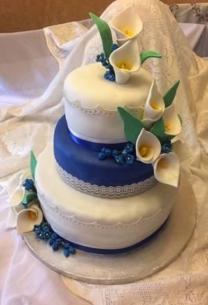 Sapphire Anniversary - Cake by Julia