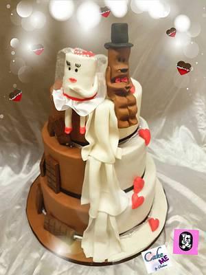Kinderschokolade in Love - Cake by Sabine Schieber
