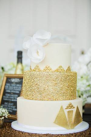 Sequins cake - Cake by Dolcetto Cakes