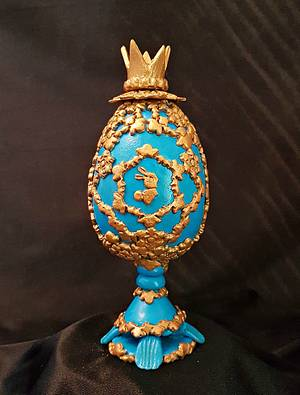 """Challenge """"Faberge Eggs"""" - Cake by Cholys Guillen Requena"""