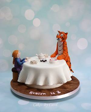 The Tiger Who Came To Tea - Cake by Carol
