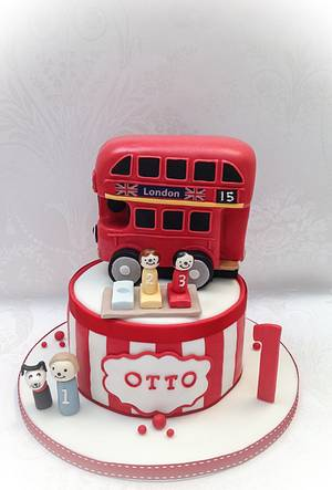 Otto's Bernie Bus - Cake by Samantha's Cake Design