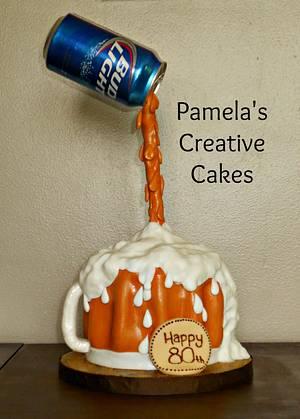 Bud Light  - Cake by Pamela Sampson Cakes