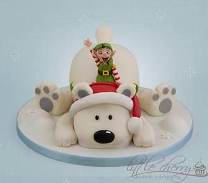 Polar Bear - Cake by Little Cherry
