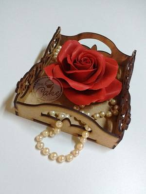 Sugar Rose - Cake by TheCake by Mildred