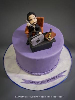 Boss Birthday Cake - Cake by Sayantanis Culinary Delight