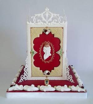 La Reine Marie Antoinette - Cakeflix Collaboration - Cake by ARISTOCRATICAKES - cake design by Dora Luca