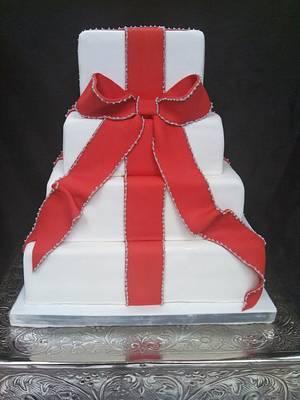 Christmas Presents - Cake by Elyse Rosati