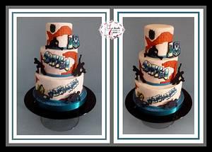 "Skater cake for 18th birthday - Cake by ""Le torte artistiche di Cicci"""
