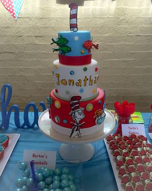 Cat in the hat cake - Cake by At Piece
