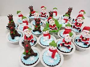 Christmas cookies and cupcakes  - Cake by Svetlana Hristova
