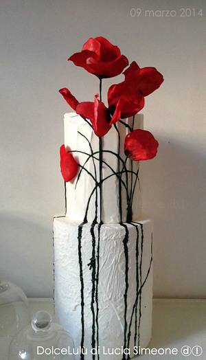 dreaming poppies - Cake by Lucia Simeone