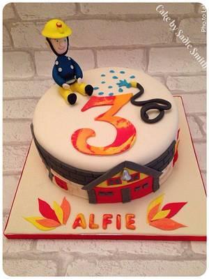Fireman Cake - Cake by Sadie Smith