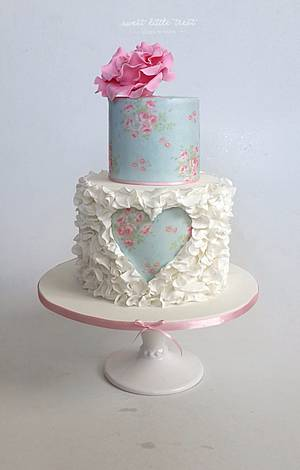 Sweetheart cake - Cake by Sweet Little Treat