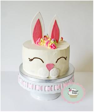 Easter Bunny - Cake by Planet Cakes